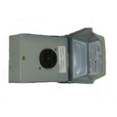 GE Energy Midwest Electric 50A 120 & 240V Outdoor Raintite Receptacle Enclosure