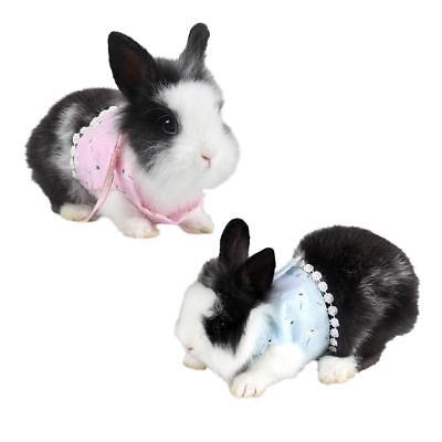 Small Animal Harness Guinea Pig Forret Hamster Rabbit Squirrel Vest Clothes Lead