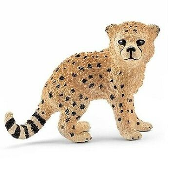 Schleich 14747 Cheetah Cub 5 cm Series Wild Animal