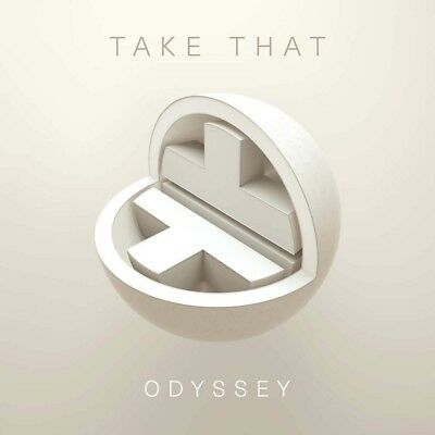 Take That Odyssey CD Deluxe Edition New 2018