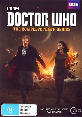 DR WHO 2014-2015 Series 9+2x Christmas Doctor Peter CAPALDI Season Au R4 DVD
