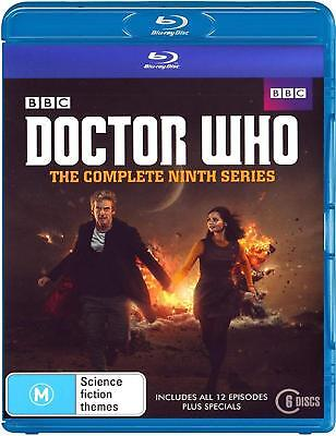 DR WHO 2014-2015 Series 9+2x Christmas Doctor Peter CAPALDI Season Au BLU-RAY