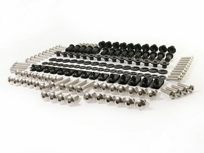 Complete Set Stainless Steel Fairing Bolt Kit Body Screws Nuts for Honda