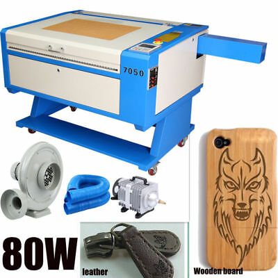 USB-Port 80W Laser Graviermaschine CO2 Graveur Cutter 700x500mm DSP-Steuerung
