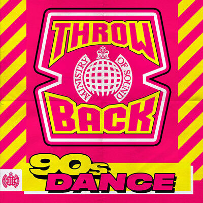 Various Artists : Throwback 90s Dance CD (2018) ***NEW***