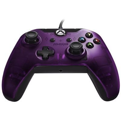PDP Wired Controller for Xbox One - Purple Dual rumble motors