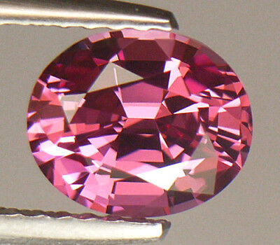 FLAWLESS CLARITY GORGEOUS PINK 7.5mm CLASSIC OVAL CUT SRI LANKAN SPINEL
