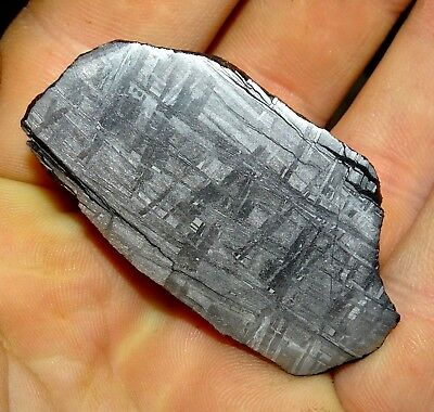Beautiful Large 112 Gm Etched Gibeon Meteorite End Cut From Namibia