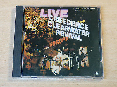 Creedence Clearwater Revival/Live In Europe/1987 CD Album