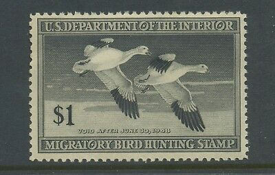 Scott #RW14 'SNOW GEESE' Federal Duck Mint Stamp NH (Stock #RW14-13)
