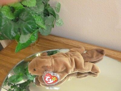 0778e657eb5 TY Beanie Baby - BUCKY Beaver PVC PELLETS Plush collectible toy