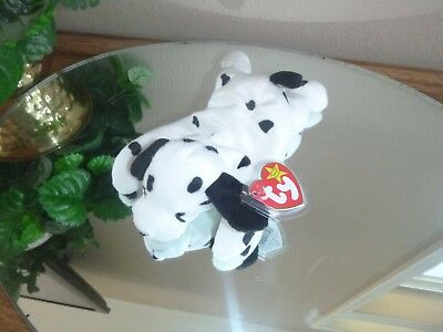 c9bc2294d71 DOTTY the Dalmatian Dog TY Beanie BABY PVC PELLETS Plush collectible toy