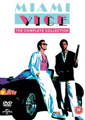 Miami Vice: The Complete Collection DVD (2016) Olivia Brown ***NEW***