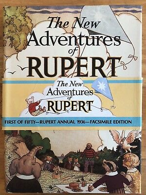 RUPERT BEAR FACSIMILE 1936 WITH PRICE BAND & D/W No 4043 LIMITED EDITION V FINE!