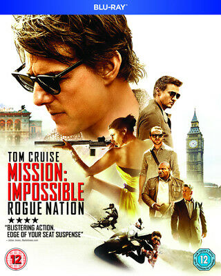 Mission: Impossible - Rogue Nation Blu-Ray (2015) Tom Cruise, McQuarrie (DIR)