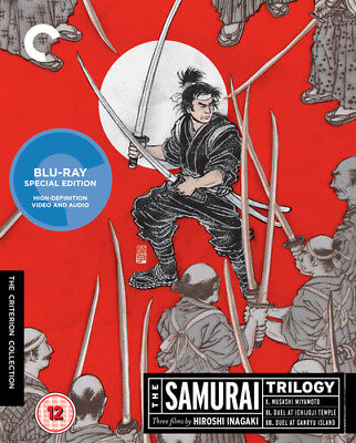The Samurai Trilogy - The Criterion Collection Blu-Ray (2016) Toshirô Mifune