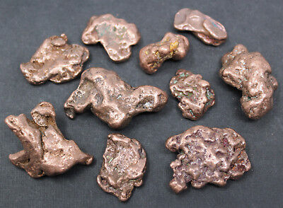 Copper Nuggets: 2 oz Lot Keweenaw Michigan