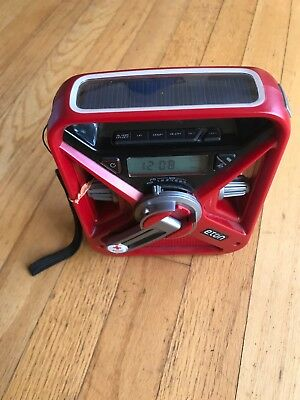 American Red Cross Frx3 Multi-Powered Weather Alert Radio
