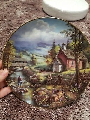 Danbury Mint Summertime Collectors Plate by Rudi Reichardt