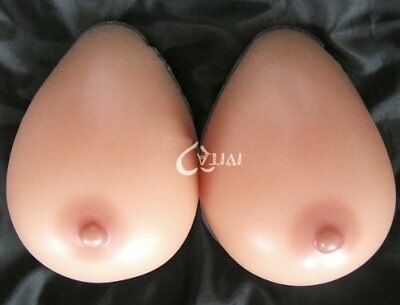 Forever Young Silicone Breast Form Full Boob TV SunTan Colour Cup H