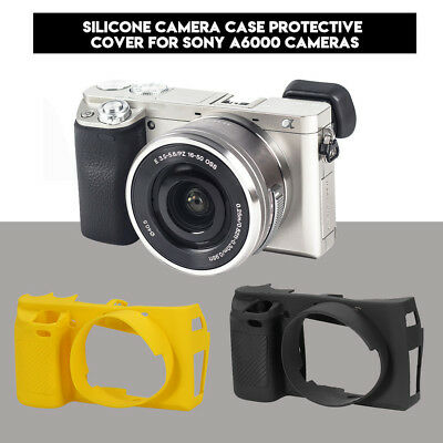 Camera Soft Silicone Rubber Protector Cover Skin Case for Sony A6000