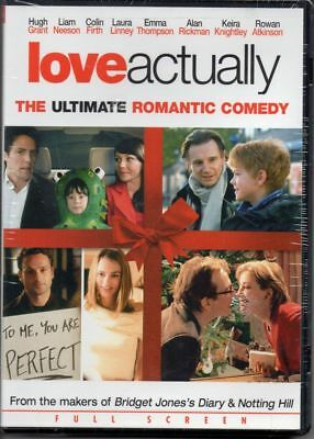 Love Actually (Full Screen Dvd) Rowan Atkinson, Martine Mccutcheon -  New Sealed
