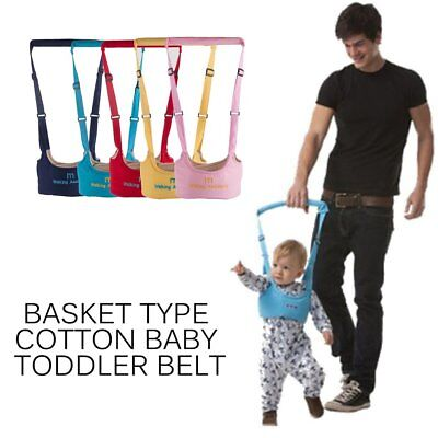 Baby Toddler Walking Belt Safety Harness Strap Walk Assistant Baby Walk Helper L
