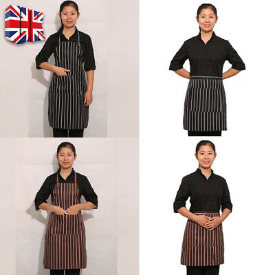 Apron Catering Butcher Kitchen Cooking BBQ Craft Baking Chefs Pure Cotton Y