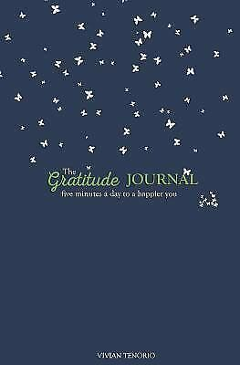 Gratitude Navy Sage Journal : Five Minutes a Day to a Happier You, Paperback ...