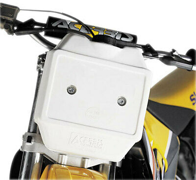 Acerbis Front Auxiliary Fuel Tank 0.8 Gallon White 2044020002 20440-20002