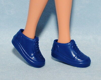 CASUAL! Deep Blue Tennis Athletic Genuine BARBIE Shoes