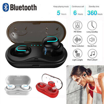 Wireless Bluetooth Headphones Mini Headset Earphone Earbuds for Samsung