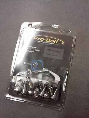 Pro-Bolt Suzuki Titanium Disc Bolts (Natural Finish)