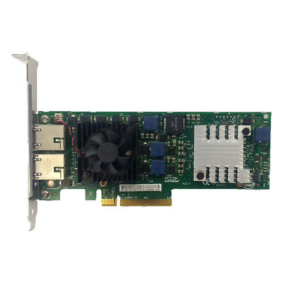Intel 10 Gbe X520-T2 Rj-45-Dual Port Plug-In Card Ethernet Server Adapter E10G42