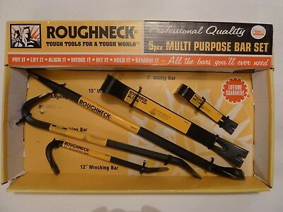 Roughneck Professional Quality 5pce Multi Purpose Bar Set