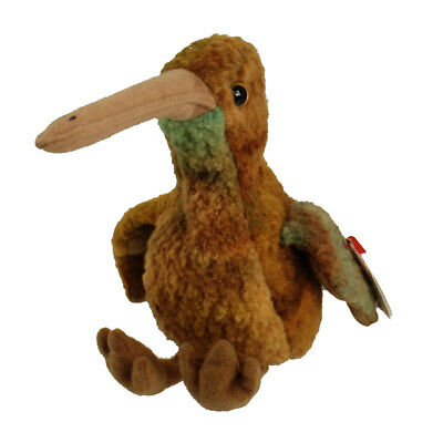 TY Beanie Baby - BEAK the Kiwi Bird (5.5 inch) - MWMT's Stuffed Animal Toy