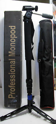 "DIGIANT MP-3606 Professional Heavy Duty Camera Monopod 70"" Telescoping DSLR Legs"