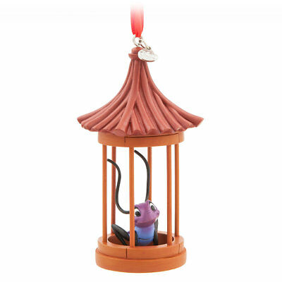 DISNEY STORE CRI-KEE IN CAGE Sketchbook Ornament NWTs Mulan