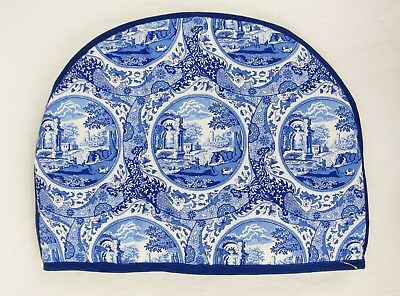 Spode NEW Blue Italian Cotton Poly Fill Tea Cozy Cosy Blue Room Collection