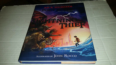 percy jackson and the lightning thief illustrated edition pdf