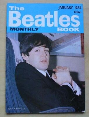 Beatles Beatles Monthly Book No.93 Magazine January 1984 A5 Sized Fan Booklet Wi