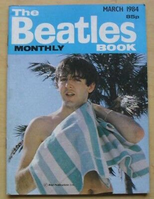 Beatles Beatles Monthly Book No.95 Magazine March 1984 A5 Sized Fan Booklet With