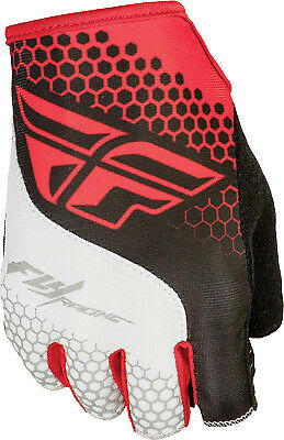 Fly Racing Fingerless Glove All Colors/Sizes Red/White X-Small 350-086207