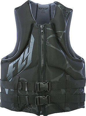FLY RACING NEOPRENE VEST GREY/BLACK XS Gray/Black X-Small 142424-701-010-16