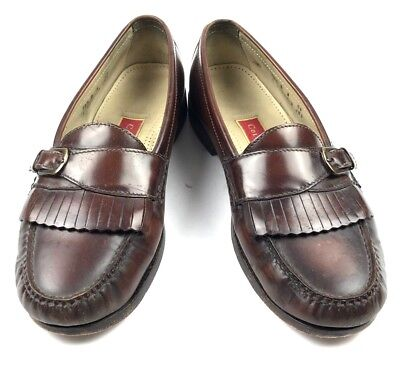 af968c51f97 Cole Haan Pinch Kiltie Buckle Moc Toe Slip On Loafers Men s Size 10.5