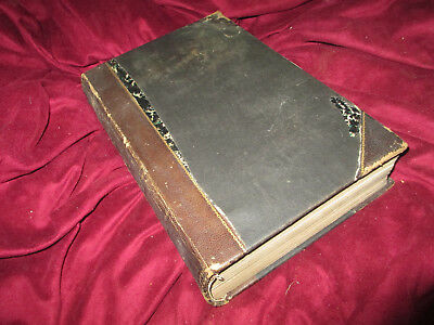 HISTORY HARPER'S NEW MONTHLY MAGAZINE Volume L 12/1874-5/1875 leather book