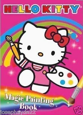 New  Hello Kitty - Magic Painting Book