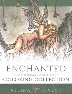 Enchanted - Magical Forests Coloring Collection, Paperback by Fenech, Selina ...