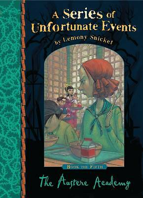 NEW (5) AUSTERE ACADEMY (Hardback) 9781405266116 Series of Unfortunate Events