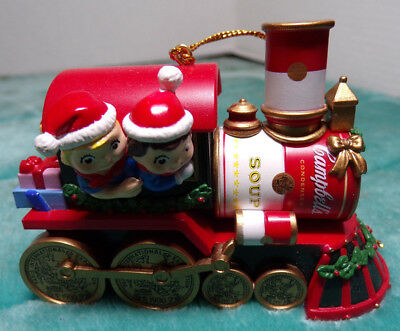 Campbell's Kids ~ Train ~ Engine ~ Christmas Ornament ~ 2000